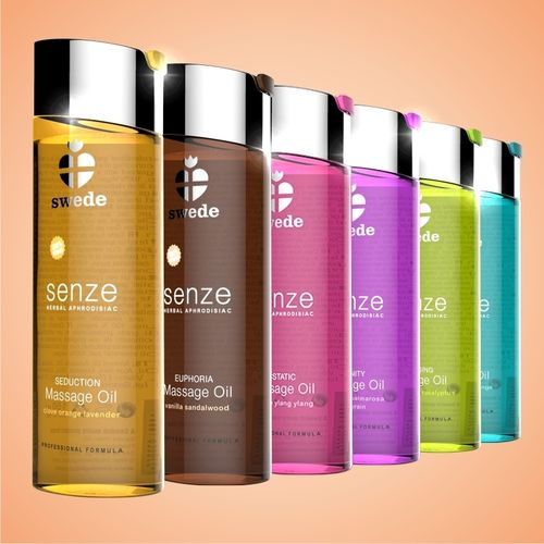 SWEDE Senze Massage Oil 75 ml